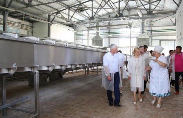 Сырный завод в Великом Бурлуке