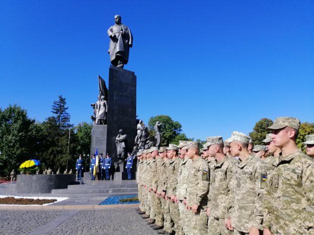 В Харькове почтили память погибших защитников Украины