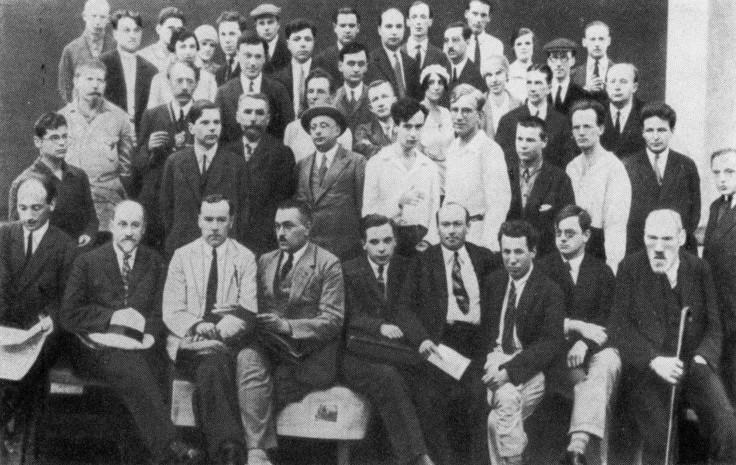Участники первой конференции по теоретической физике. Харьков. 1929 год