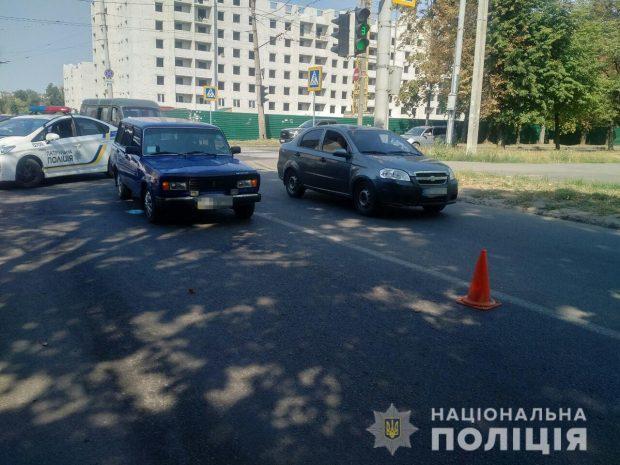 В Харькове пожилая женщина попала под колеса легковушки
