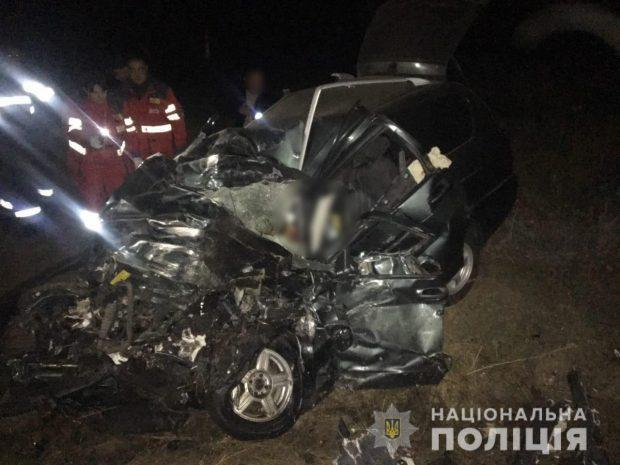 В Чугуевском районе в результате аварии погибли два человека