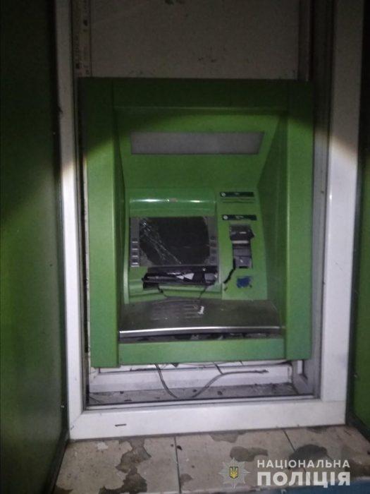 Взрыв банкомата