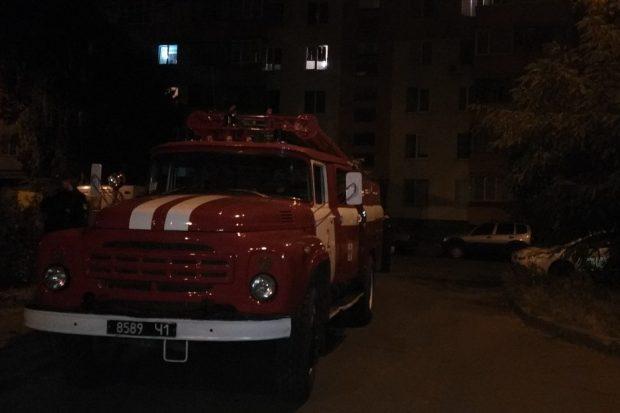 Во время пожара в Харькове погиб мужчина