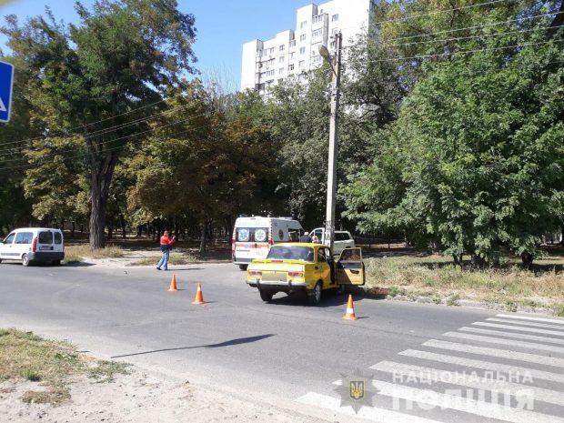 В Харькове подросток попал под колеса автомобиля