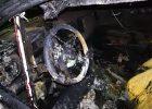 В Харькове на парковке ТРЦ сгорело два автомобиля