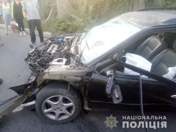 В результате аварии по улице Москалевской пострадали два человека
