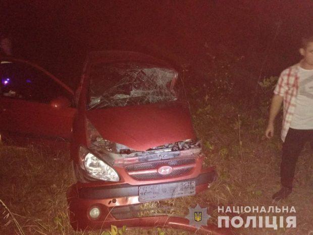 На Харьковщине в результате аварий погибли два человека