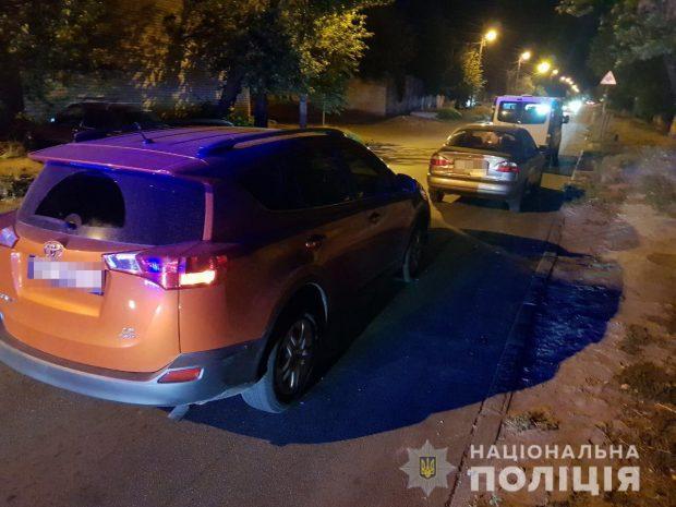 В Харькове в результате аварии пострадала пассажирка автомобиля
