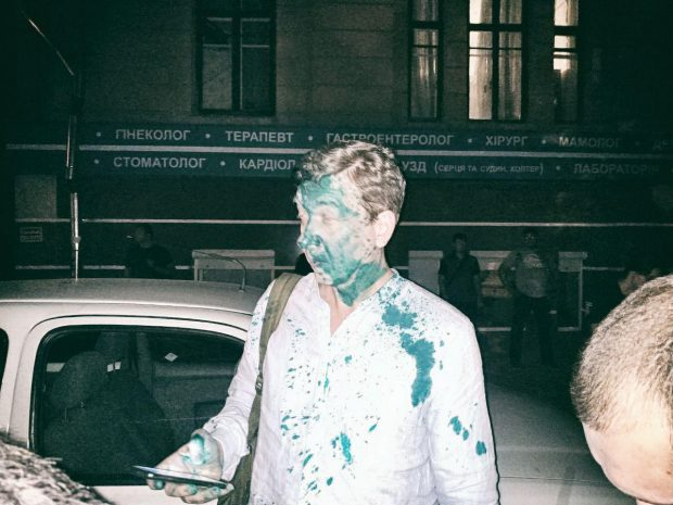 В Харькове националисты пытались сорвать лекцию о толерантности