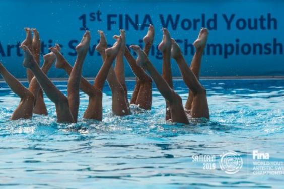 Юные харьковские синхронистки - серебряные призеры чемпионата мира
