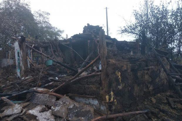 Под Харьковом женщина хотела растопить печь, но сожгла дом