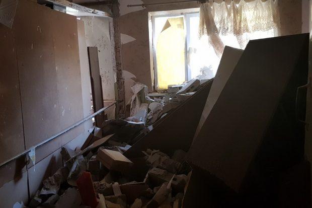 Под Харьковом в результате взрыва бытового газа пострадали 2 человека