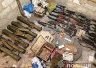 Перестрелка на Клочковской: полицейские изъяли самый большой арсенал за все последние годы