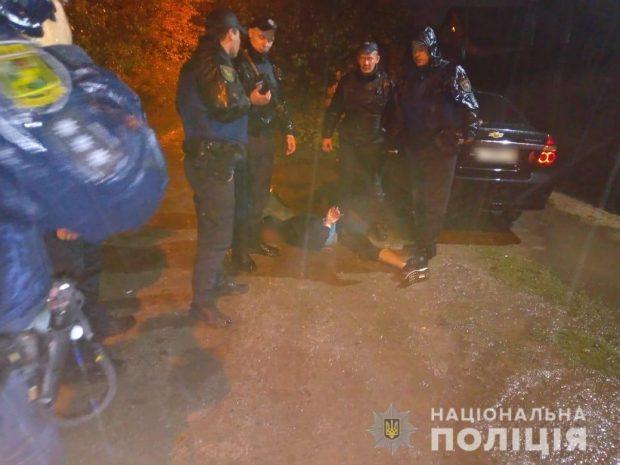 В Харькове военнослужащий угрожал жене подорвать гранату