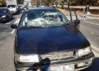 В Харькове водитель легковушки сбил женщину с детьми