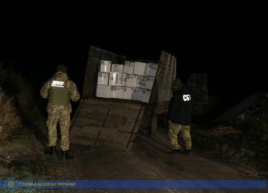 На Харьковщине СБУ задержала контрабандистов химикатов