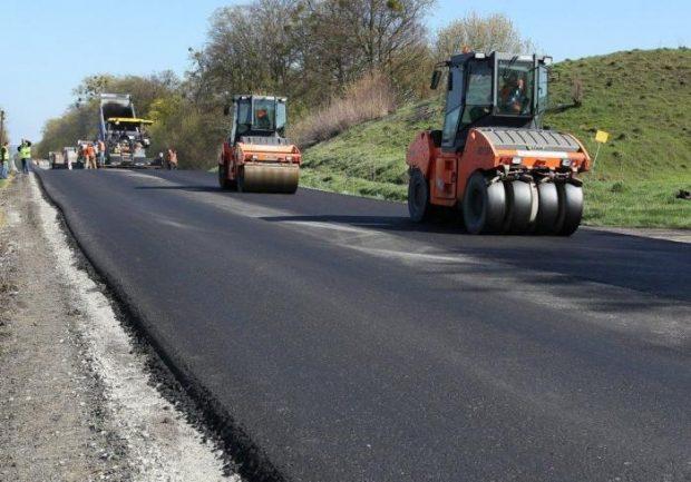 Новая дорога по трассе Черкасская Лозовая-окружная