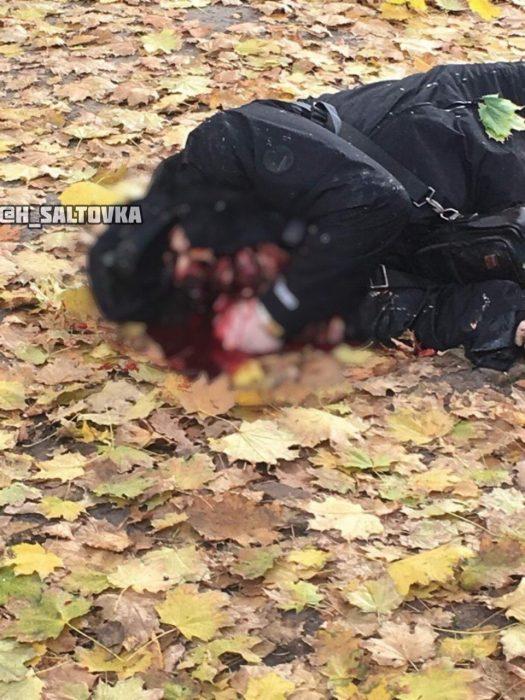 В Харькове подозреваемый в перестрелке возле супермаркета подорвал себя возле Южного вокзала