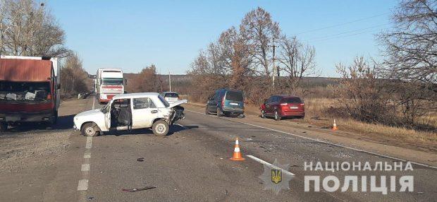 В Харькове в результате аварии пострадала женщина