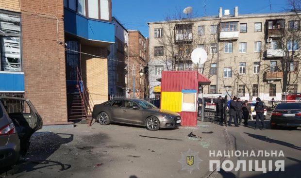 По факту взрыва в центре Харькова открыли два уголовных дела