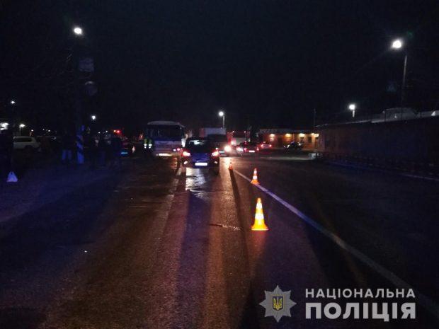 Под Харьковом 21-летний водитель сбил пешехода