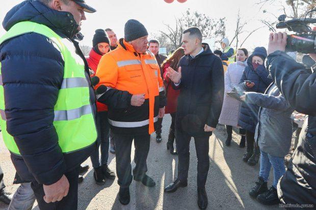 Ремонт разрушенного путепровода на окружной будут транслировать онлайн.