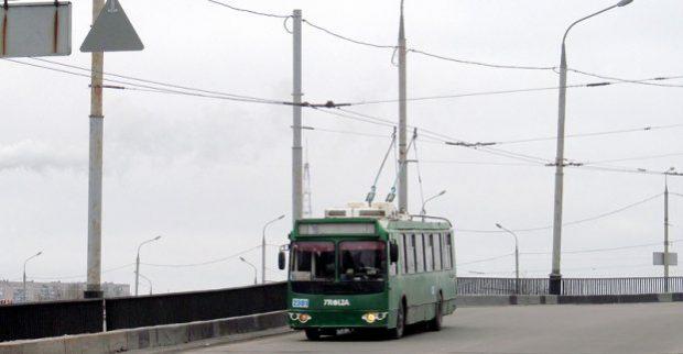 Троллейбусы №19, 31 и 35 изменили маршрут, а №20 - не ходит