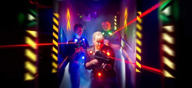 Играть в лазертаг в Харькове