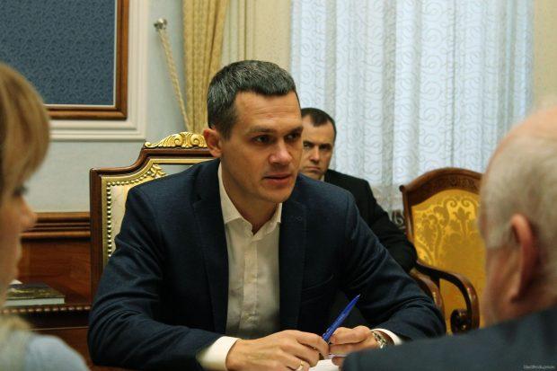 Кучер провел первую встречу на посту главы Харьковской ОГА