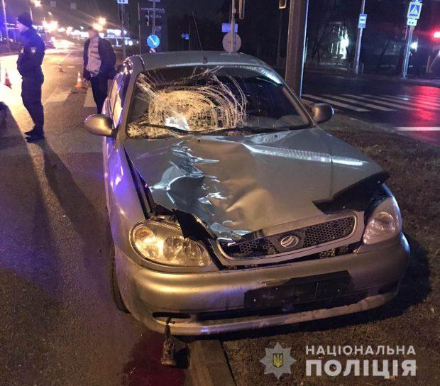 В Харькове в результате аварии погибли два пешехода