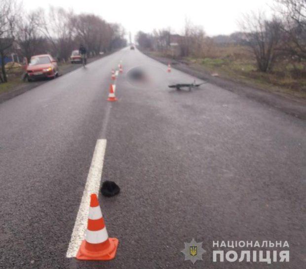 Под Харьковом насмерть сбили велосипедиста