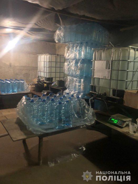 В Харькове полиция изъяла 12 тонн спирта