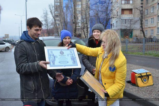 В Харькове нарисовали рекордный мурал