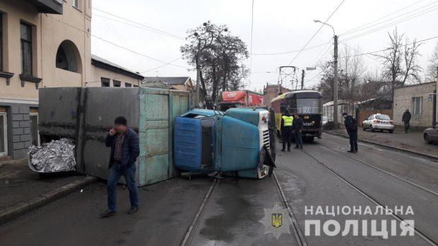В Харькове в результате ДТП пострадал пассажир автомобиля