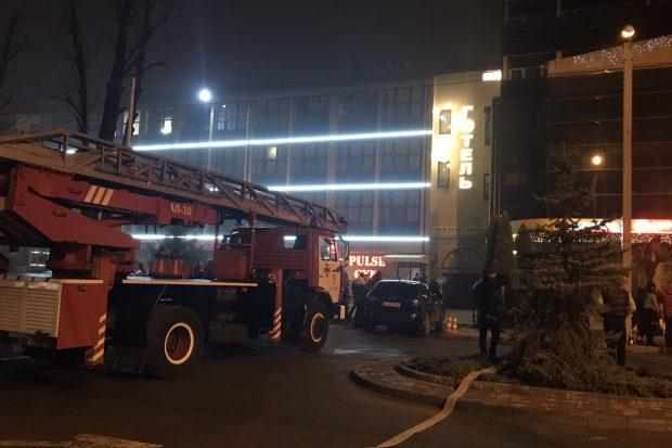 В Харькове горел ресторан