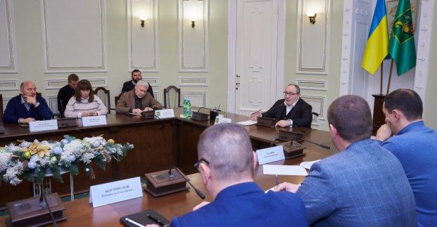 Кернес встретился с предпринимателями «Барабашово»