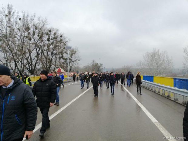Восстановленный мост на Окружной открыли