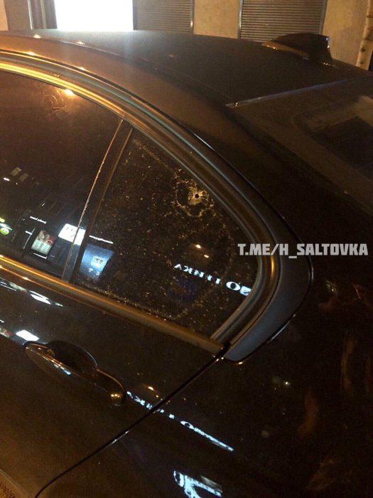 Ночью в центре Харькова стреляли