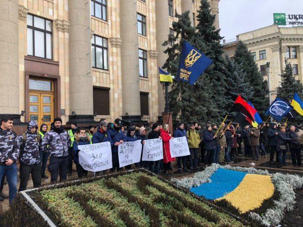 В Харькове требует не обменивать виновников теракта у Дворца спорта