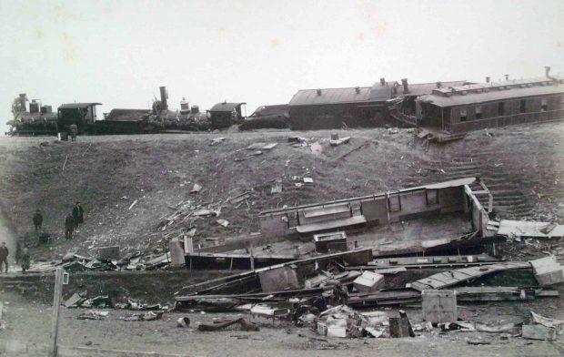 Крушение императорского поезда в Борках