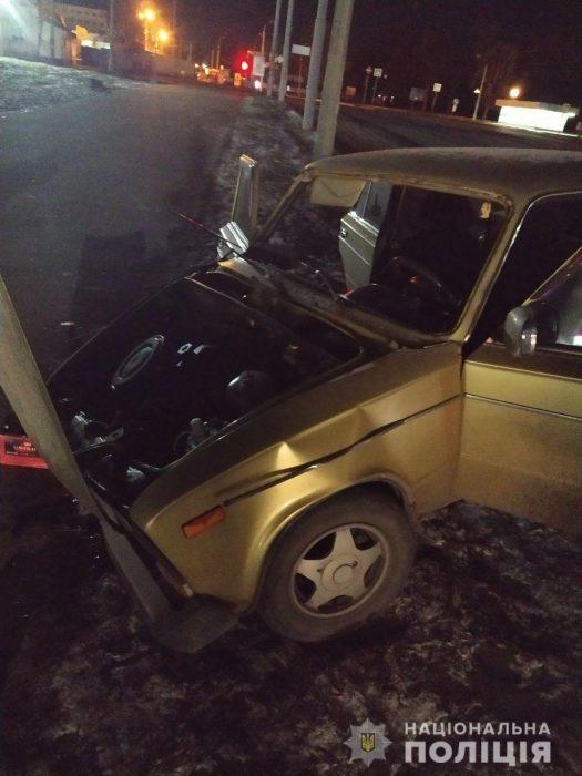Пьяный харьковчанин угнал и разбил автомобиль