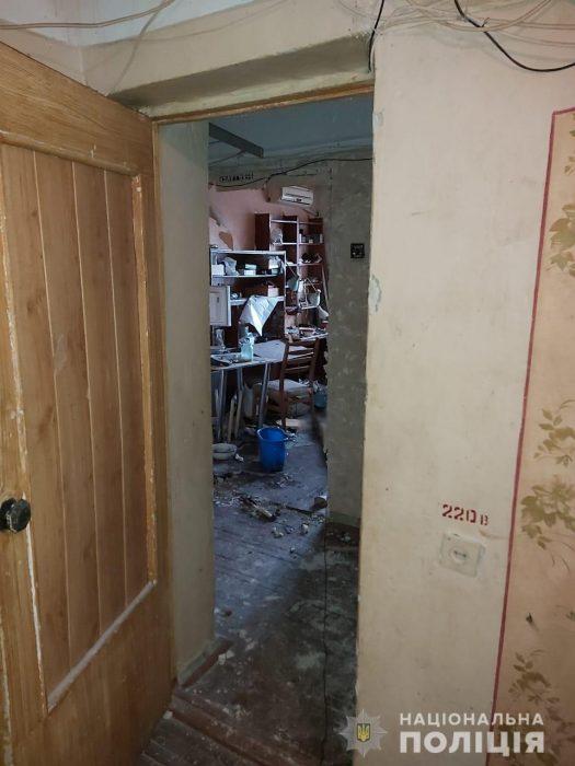 Харьковчанин взорвал в квартире гранату