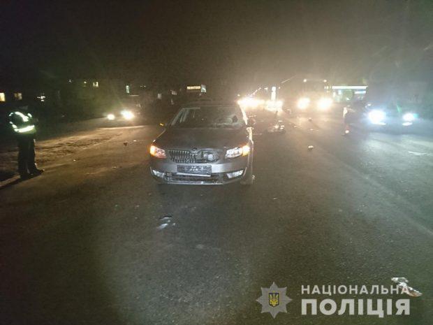 В результате аварии на Харьковщине пострадала женщина-пешеход