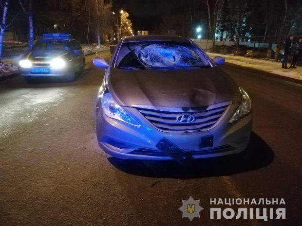 На Салтовке сбили пешехода: мужчина в больнице