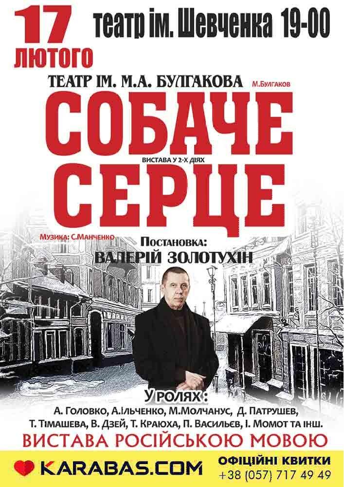 Собачье сердце Харьков