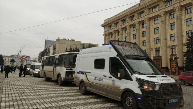 «Языковая» акция под Харьковской ОГА: Кучер призвал к толерантности