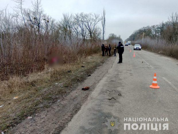 Полицейские Харькова ищут водителя, который сбил насмерть двоих и скрылся с места происшествия