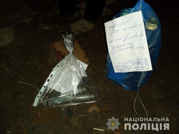 На Харьковщине накрыли наркопритон