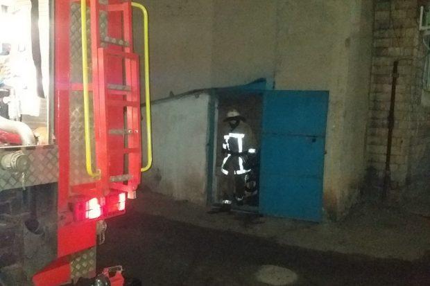 Под Харьковом горел кинотеатр