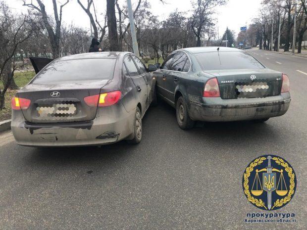 В Харькове попался на взятке подполковник полиции, который бросил своего ребенка и пытался сбежать